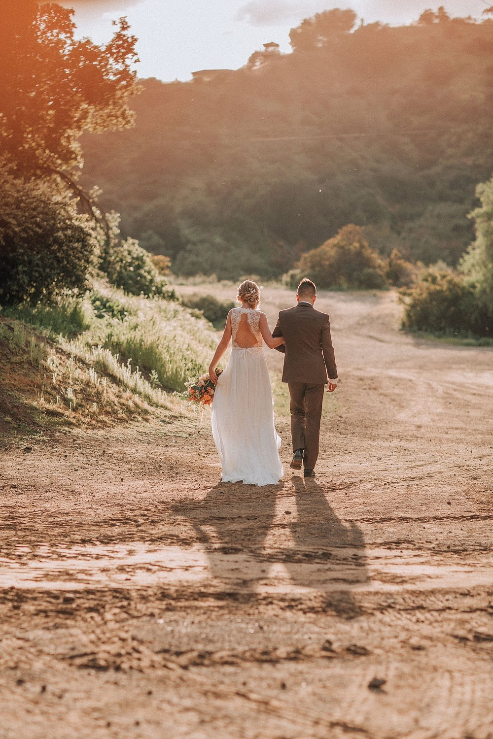 Los Angeles Elopement Photography Bronson Canyon