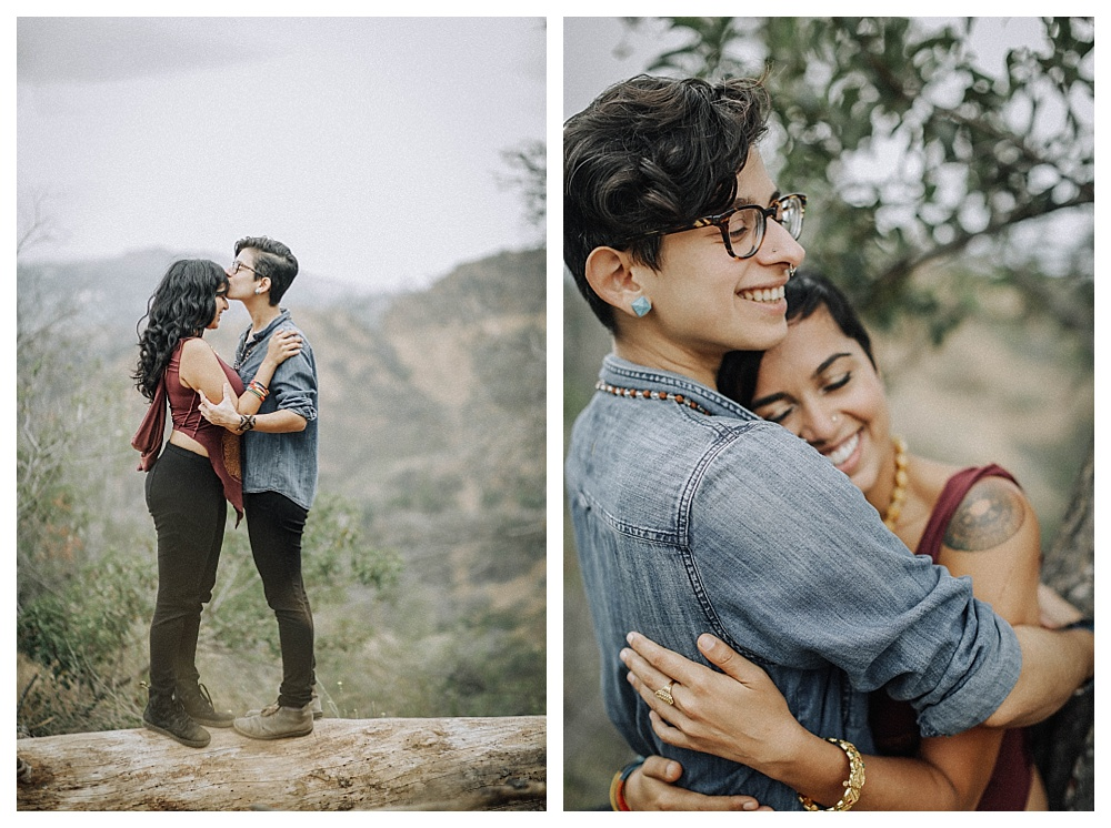 LGBT Couples Photography in Griffith Park Los Angeles, CA