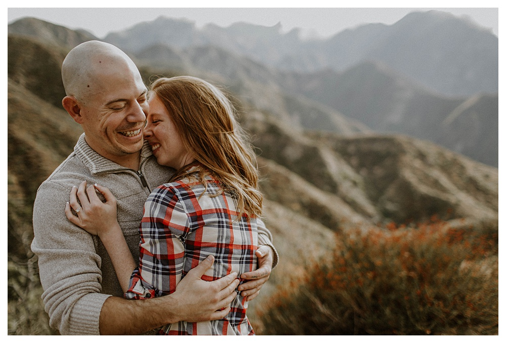 Mountain Engagement Photography in Los Angeles, CA