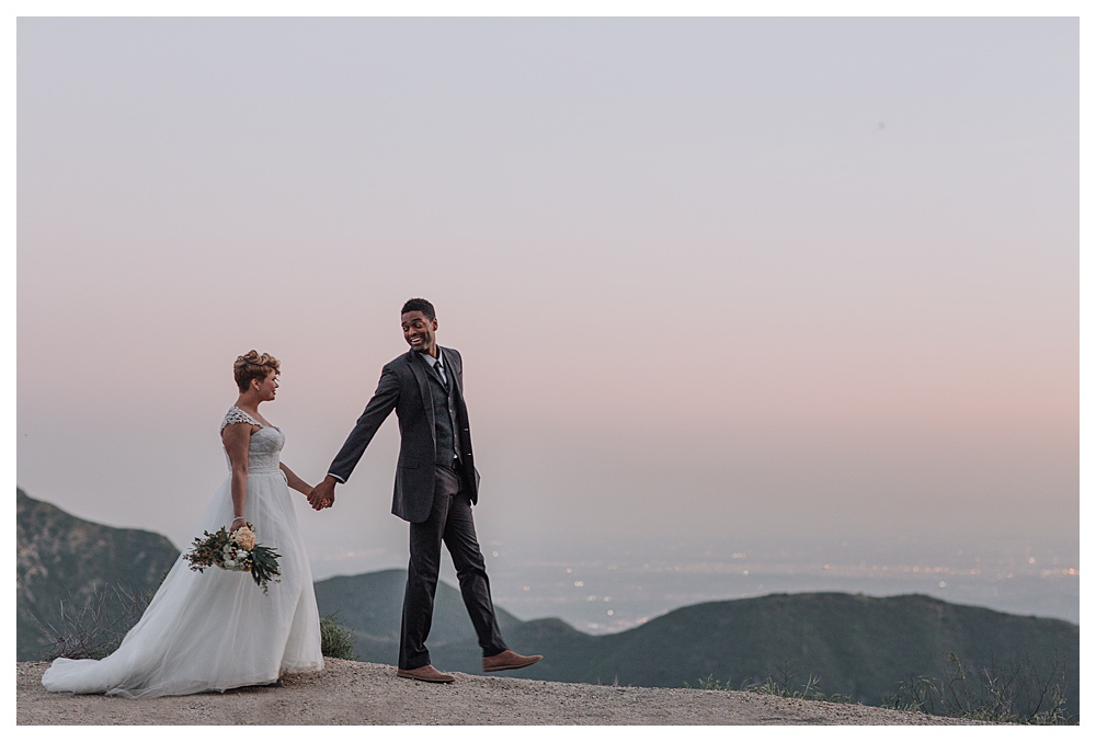 Mountain Elopement Photography in Los Angeles, CA