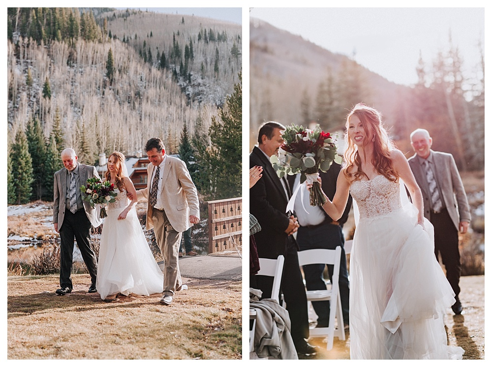 Mountain Wedding Photography in Vail Colorado | Destination Wedding Photographer Los Angeles