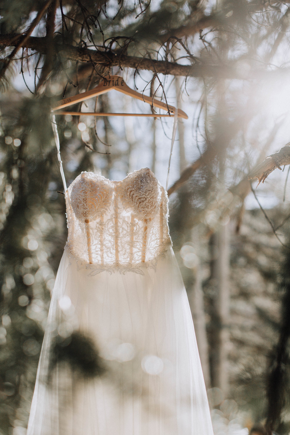 THE DRESS - Obviously the dress is a staple to your wedding day.I have a few tips about your wedding dress that will hopefully make your wedding day a little easier!First and foremost, I hate to break it to you,but your dress will get dirty. It's inevitable. Especially if you plan on having an outdoor ceremony and/or reception. Obviously, I'm not going to make you jump into a puddle of mud (unless you want to?), but do keep this in mind so you don't end up stressing out about it on your wedding day! Trust me, the sooner you accept it, the easier it will be to deal with when that time comes.STRAPLESS DRESSESStrapless dresses are gorgeous, but they do come with a price to pay. Every bride I've had who wore a strapless dress ended up spending the whole day having to adjust herself, by lifting up the dress and repositioning her ladies. And when it comes time to dance, all bets are off. If a strapless dress is your dream dress, get it! But just be prepared with some fabric tape or a trusty strapless bra to wear underneath to avoid any accidents! Overall, consider a dress you'll be comfortable to walk in.SHOESIf your feet aren't going to show, don't be afraid to wear something comfy underneath! I've seen brides wear boots, sneakers, and flip flops under their wedding dress. Definitely take this into consideration if you plan on having an outdoor ceremony, because stilettos aren't very functional when walking in the grass!