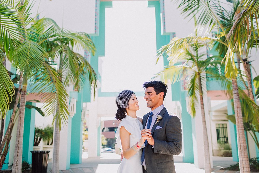 Beverly Hills Courthouse Elopement Photojournalistic Wedding Photography
