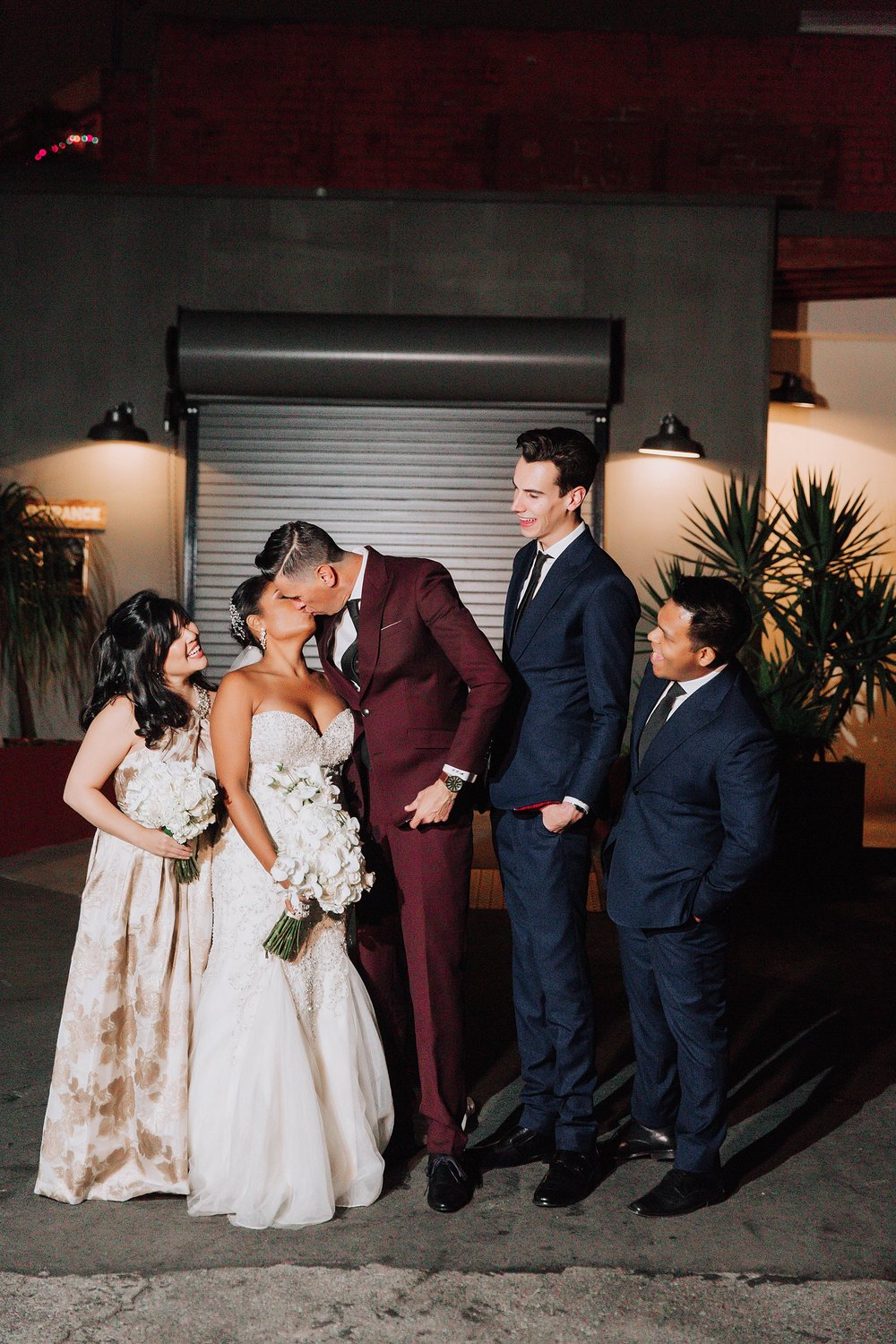 Family Wedding Portraits, Millwick Wedding Downtown Los Angeles