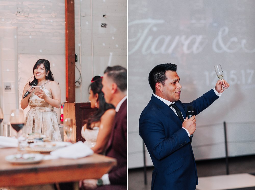 Wedding Toasts, Millwick Downtown Los Angeles