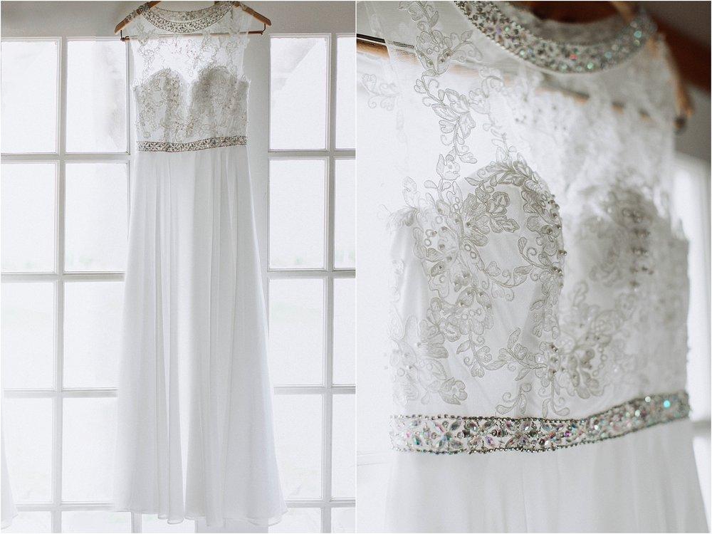 Vasquez Rocks Intimate Wedding & Elopement Photography - Bridal Dress Hanging