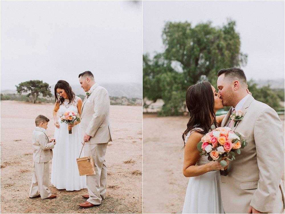 Vasquez Rocks Intimate Wedding & Elopement Photography - Candid
