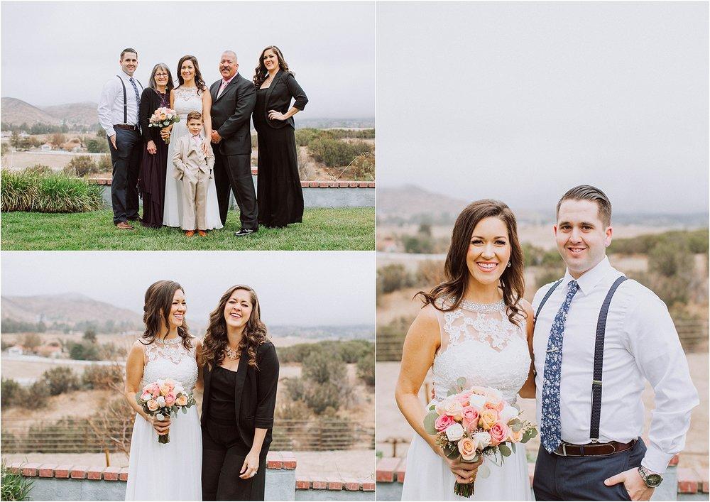 Santa Clarita wedding photography - Family Formal Portraits