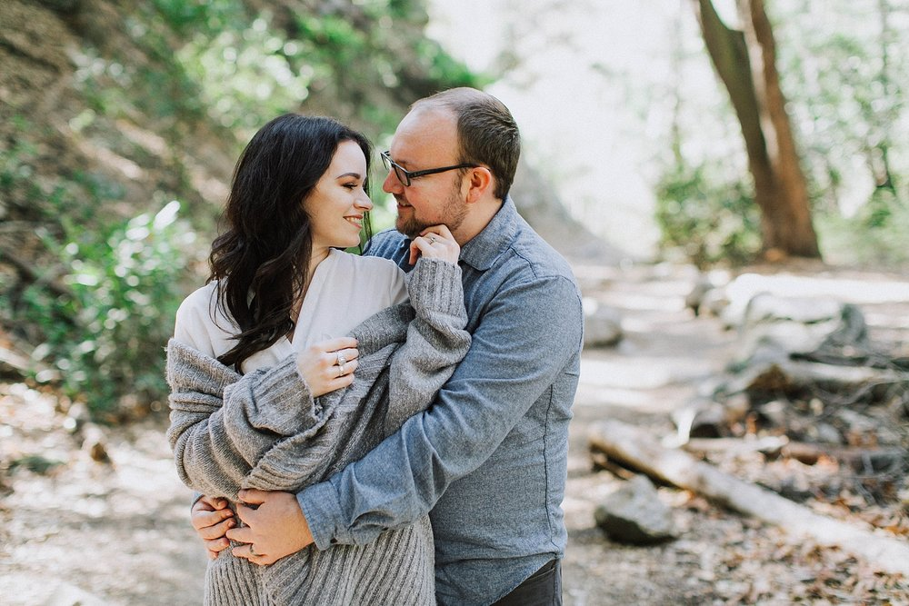 Monrovia Canyon Engagement Photo Shoot