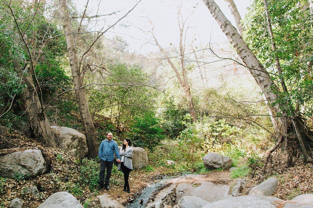 Monrovia Canyon Engagement Photo Shoot