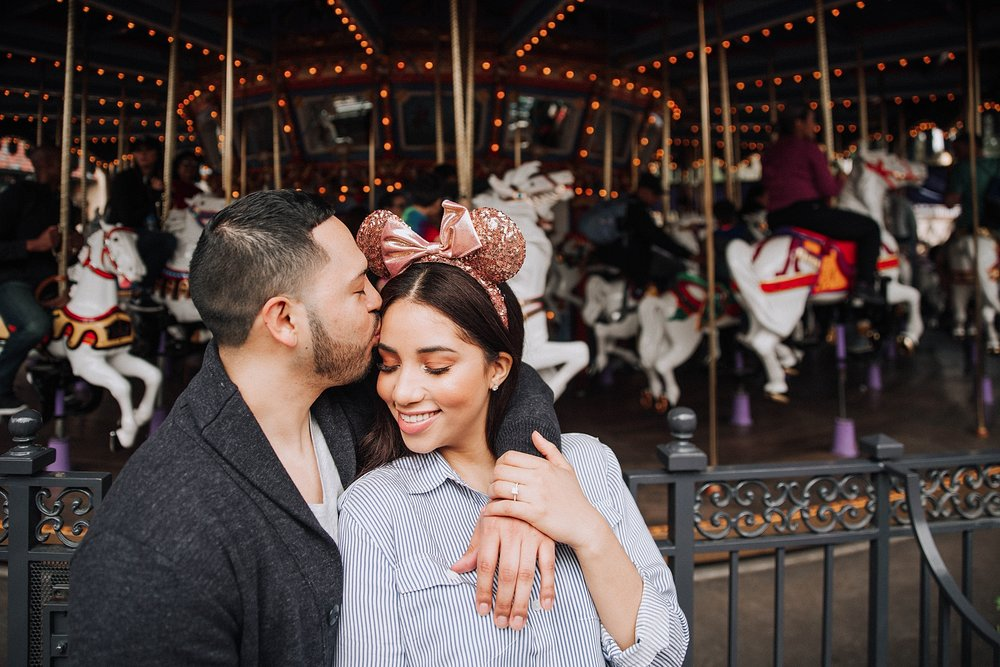 Disneyland Engagement Photo Shoot