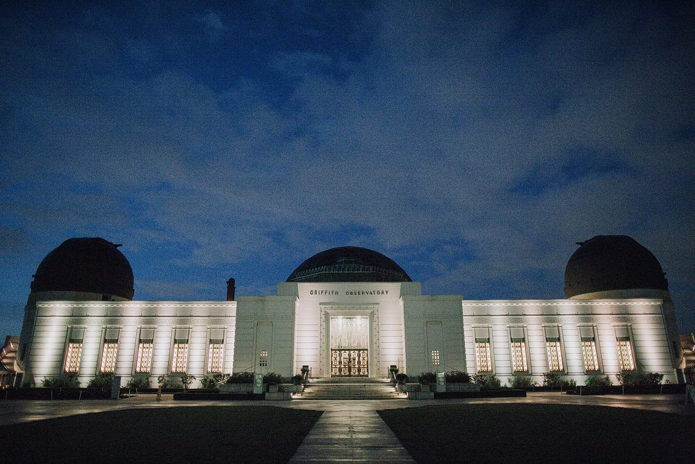 Griffith Observatory Engagement Photoshoot