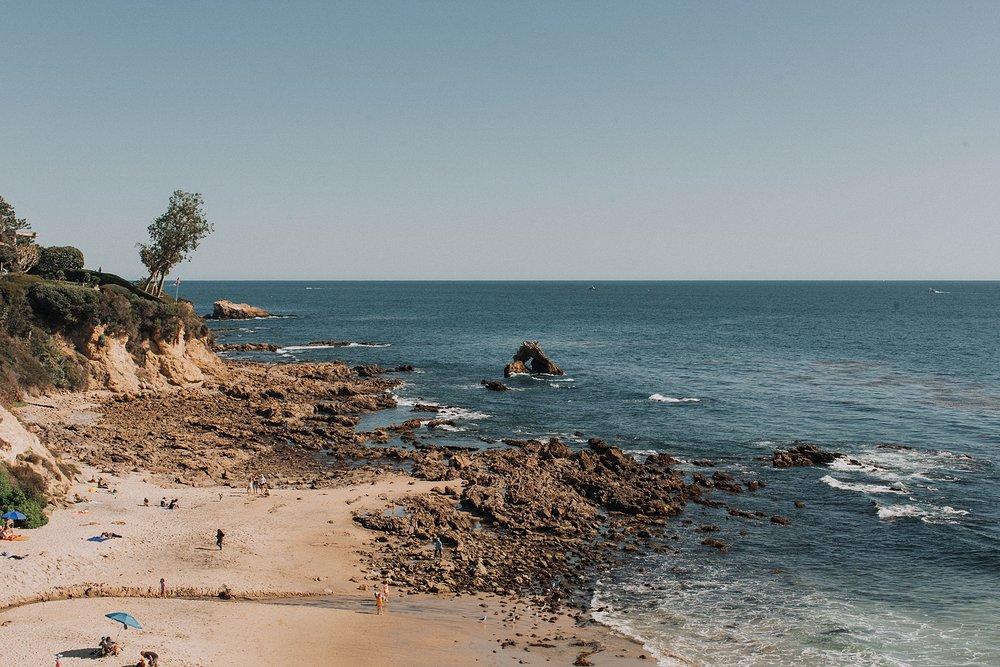 Little Corona Del Mar Elopement Photo Shoot