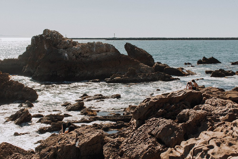 Little Corona Del Mar Elopement Photo Shoot