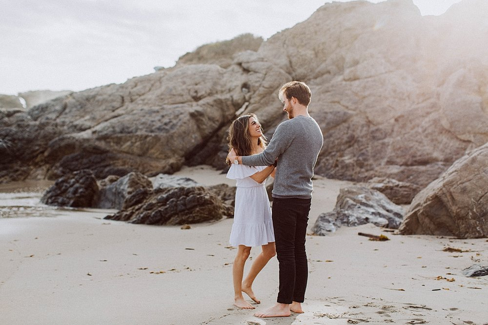 Lee Lee Carrillo State Beach Engagement