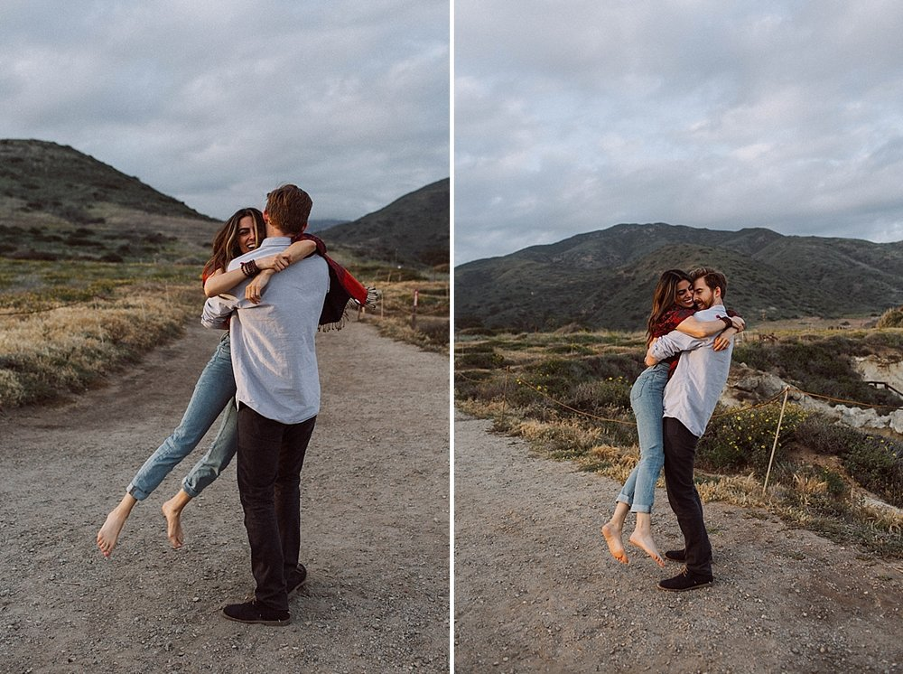 Lee Carrillo State Beach Engagement