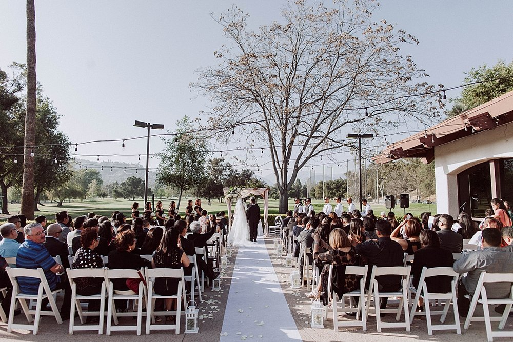 Pasadena Brookside Golf Club Wedding