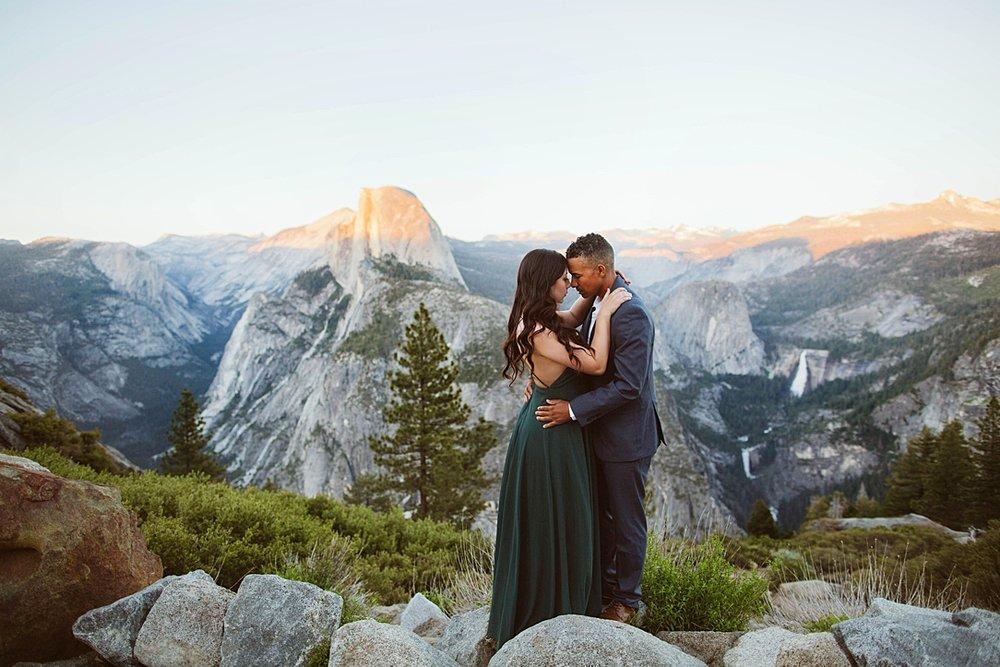 Yosemite National Park Engagement Session