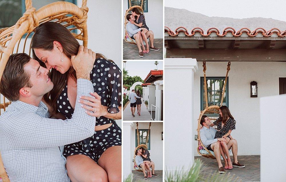 Palm Springs Surprise Proposal