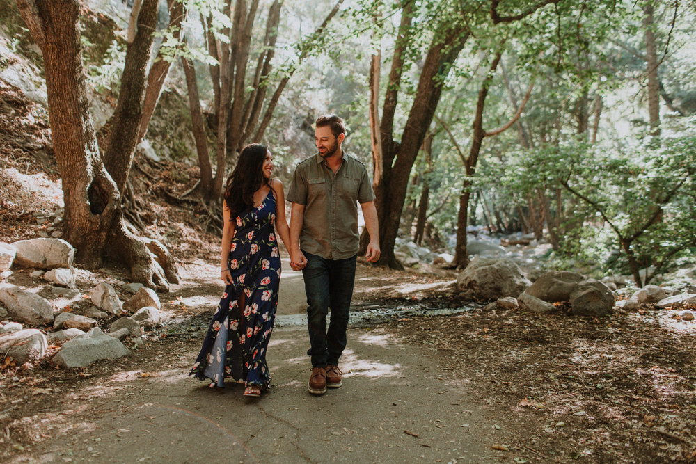 Switzer Falls - Forest Engagement Photos
