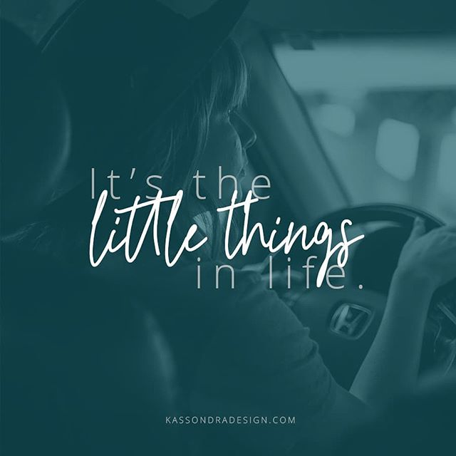 So last night I got to enjoy one of my favorite things. .  Driving with the windows down at night, when the air is cool, but not too hot or too cold. It's so peaceful and soothing. .  What is a small thing you appreciate? .  #drivingwiththewindowsdown #springweather #itsthelittlethings #nightair #drivingandthinking #peaceful #graphicdesigner #freelancedesigner #entrepreneurgraphicdesigner #entrepreneurdesigner #freelancegraphicdesigner #inspirationalquotes #kassondradesign