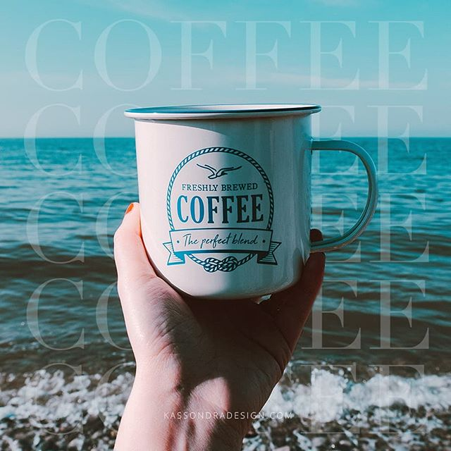 Drinking coffee and daydreaming about summer. .  #summerdays #beach #coffee #coffeegraphics #beachdays #daydreamingofsummer #graphicdesigner #freelancedesigner #freelancegraphicdesigner #entrepreneurgraphicdesigner #entrepreneurdesigns #entrepreneurdesigner #kassondradesign #coffeeandbeach #beachandcoffee #midwestgraphicdesigner