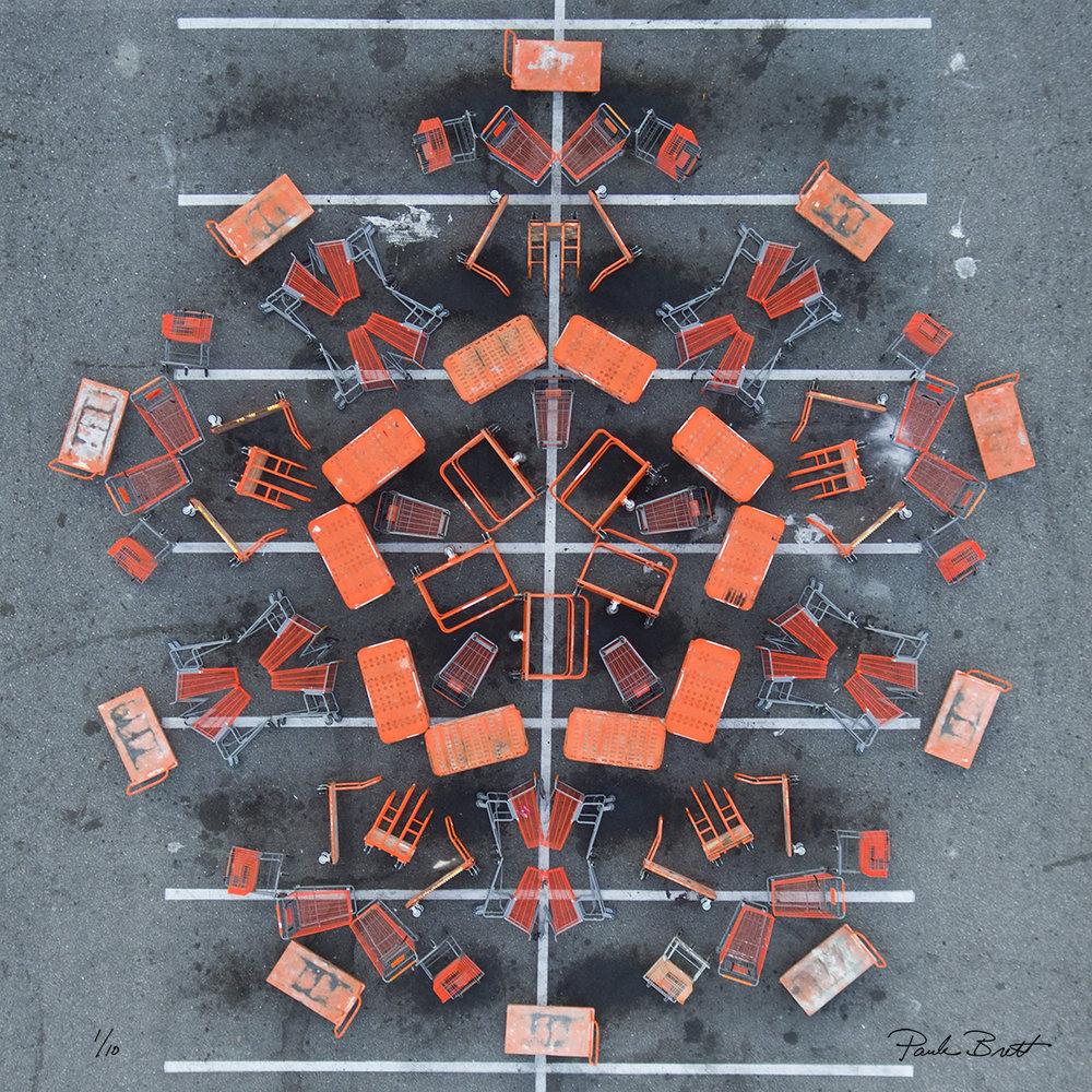 Orange Shopping Cart Mandala (Home Depot, 2016)