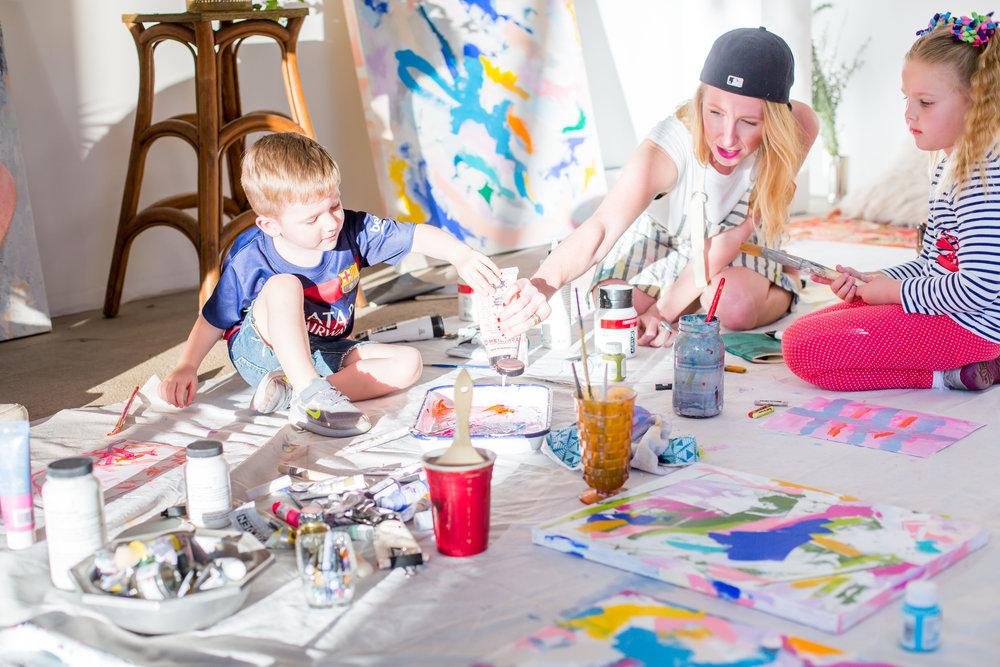 san-diego-branding-photographer-kids-painting-samantha-louise-marett-artist-1