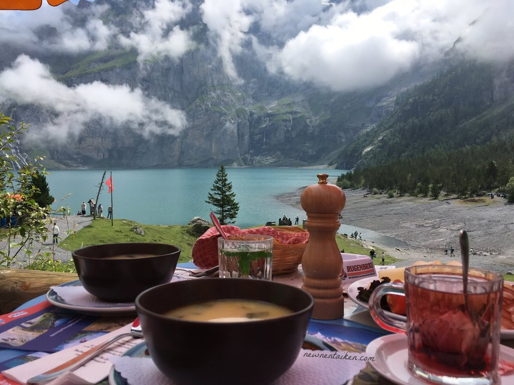 soup lake oeschinensee