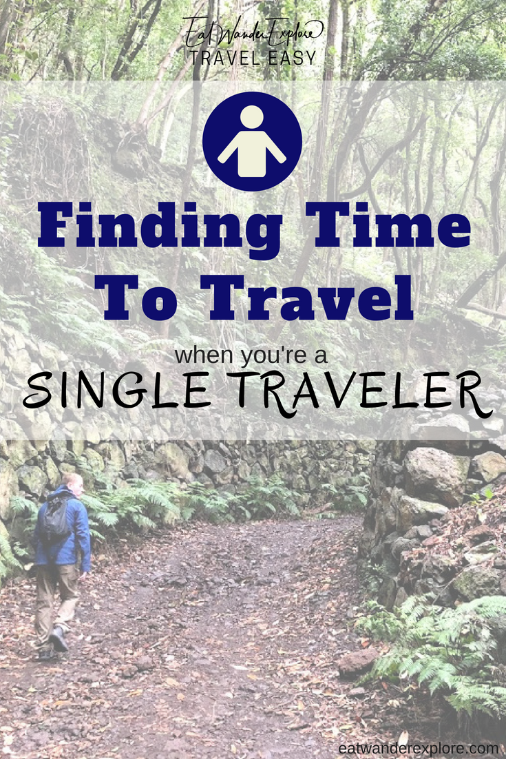 Travel Easy finding time to travel solo