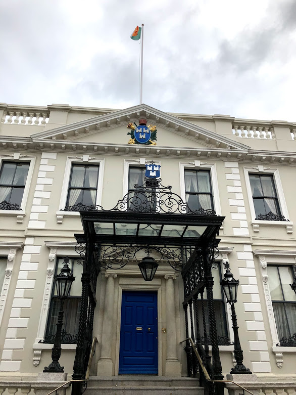 Mansion House - The official residence of the Lord Mayor of Dublin and the oldest Mayoral House in Ireland and Britain.