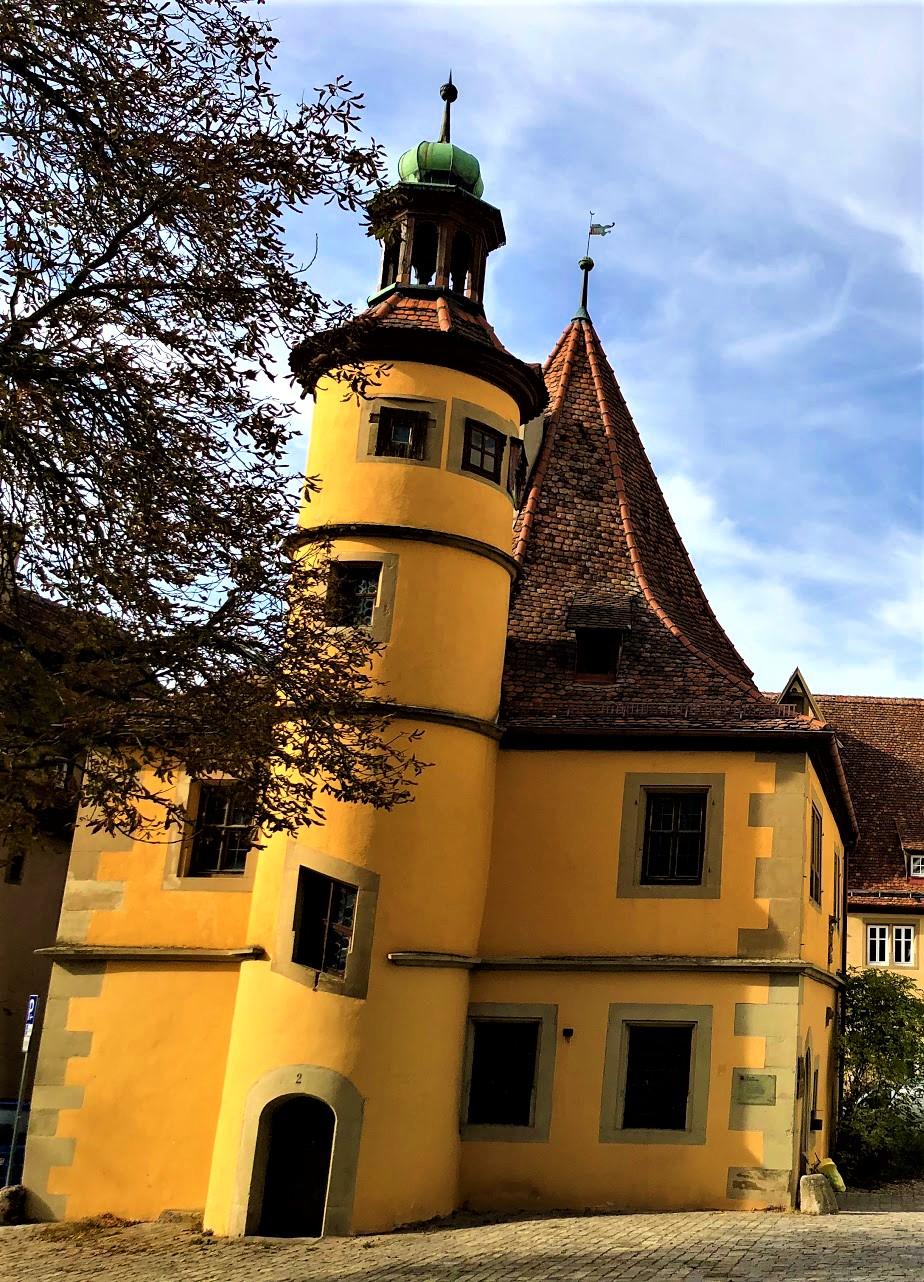 Die Weihnachts Ecke: Hegereiter House, Rothenburg ob der Tauber