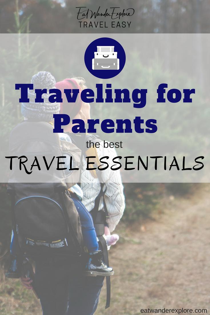 travel parents packing essentials