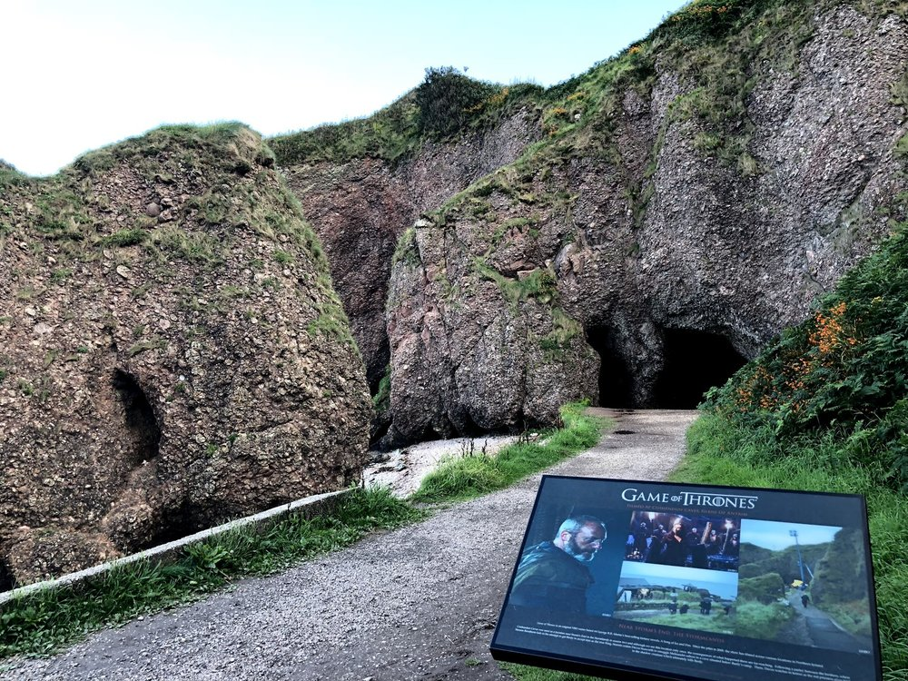 Cushendun Caves Game of Thrones