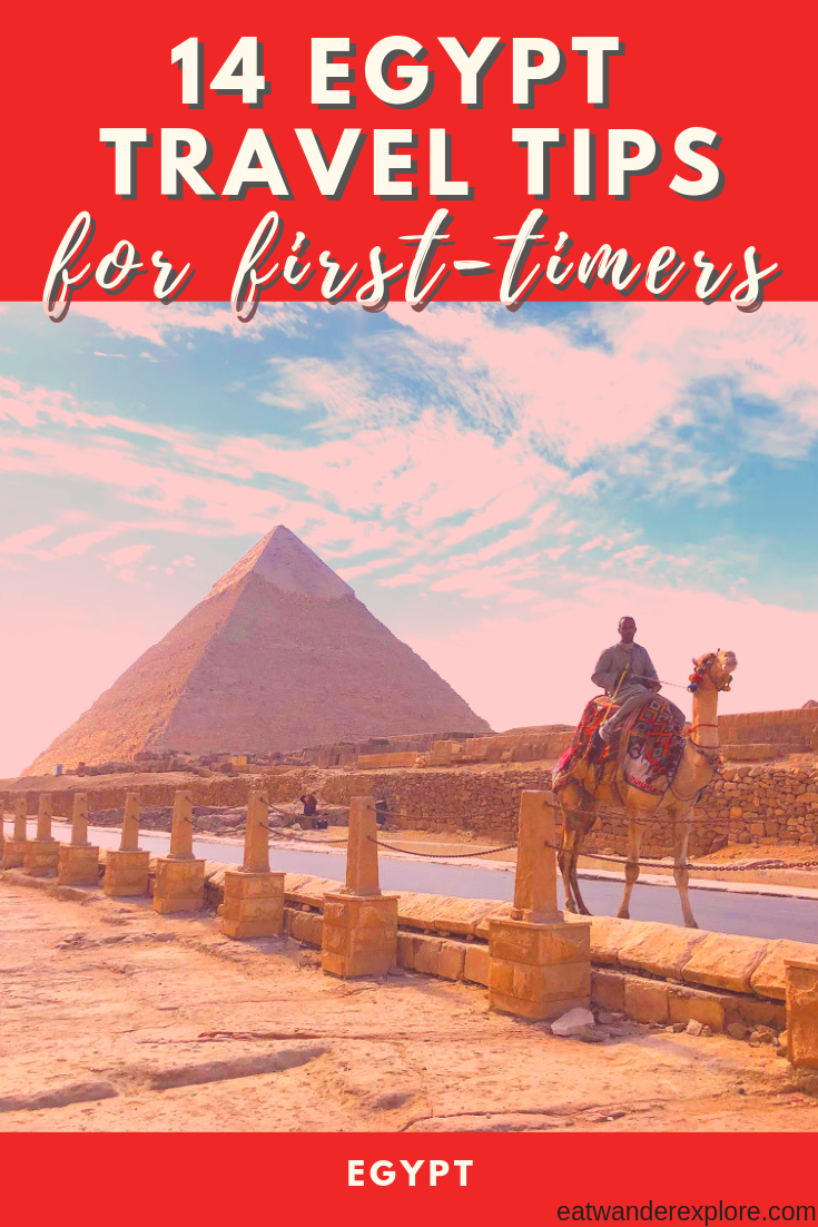 14 travel tips for first time travelers to Egypt - cairo - luxor - aswan