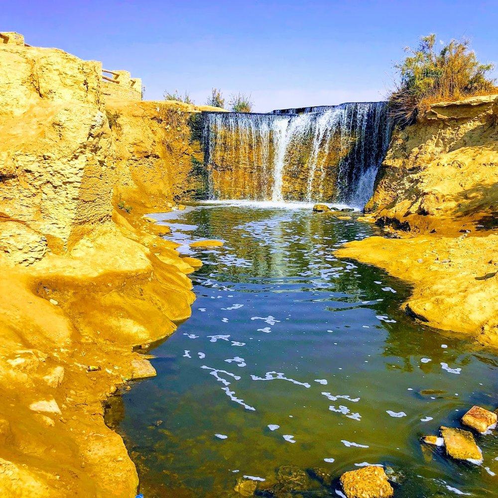Wadi Al Rayan Waterfalls, Fayoum Oasis
