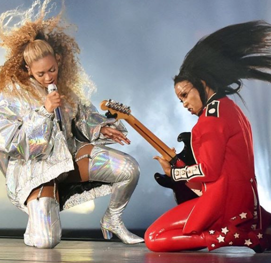 We The Fix lead guitarist Ari O'Neal on tour with Beyonce.