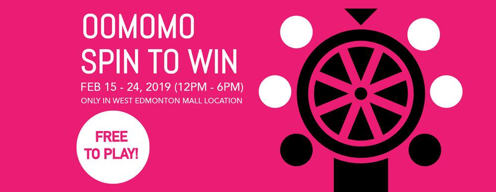 Oomomo WEM Spin to win 2019