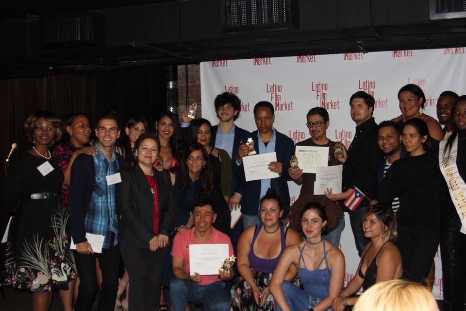 Filmmakers, actresses, actors, facilitators and sponsors of the LATINO FILM MARKET 2017