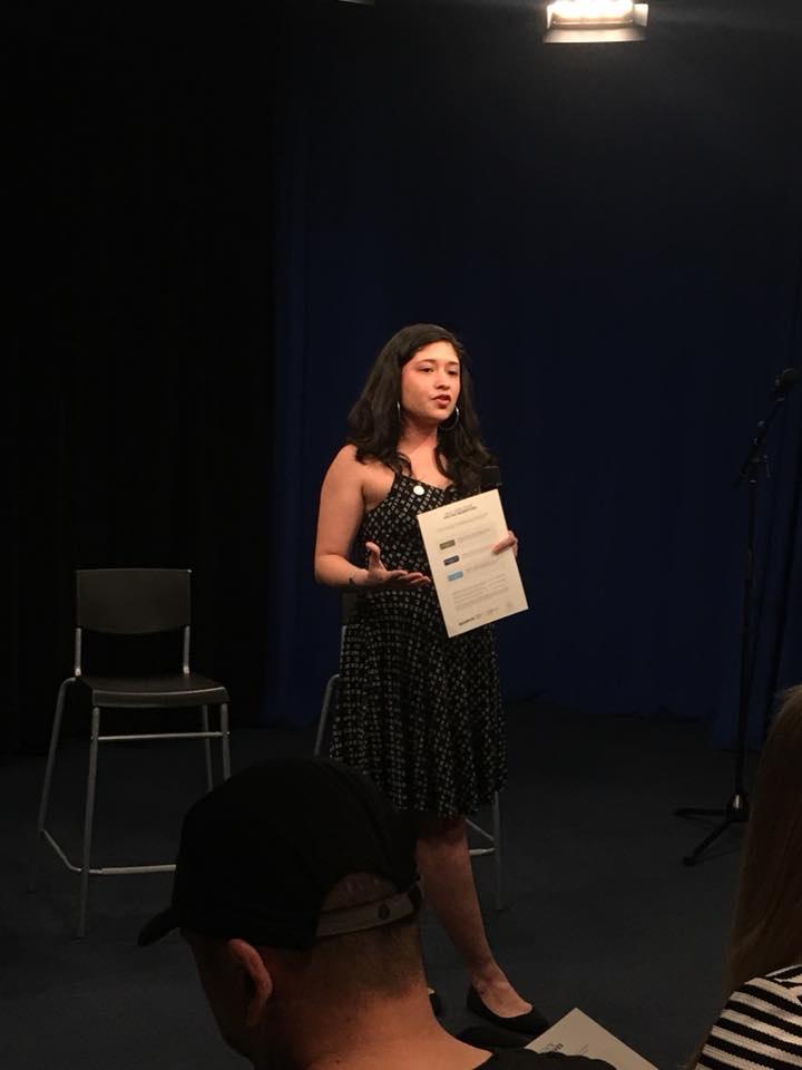 Rebekah Hernandez representing New York Post Allianze