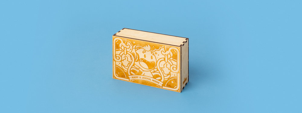laser cut wood, laser cut box, boom box, finger joint, custom fabrication, portland