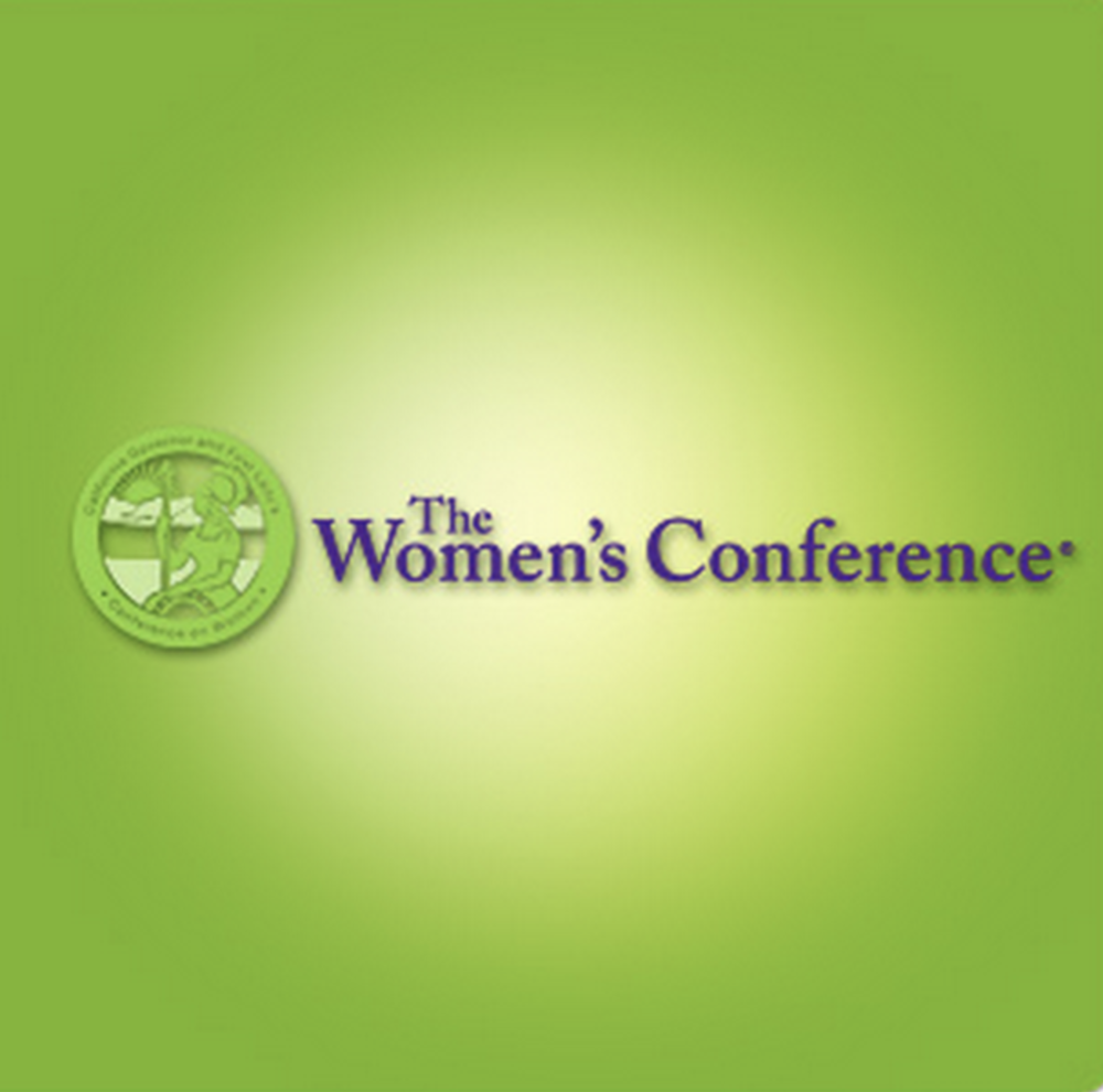 WOMEN'S CONFERENCE - SPEAKER, 2010SPEAKERS INCLUDED MARIA SHRIVER, OPRAH WINFREY, RUTH BADER GINSBURG & MICHELLE OBAMA