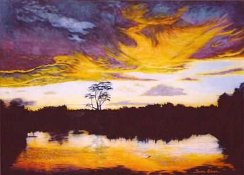 """African Sunset"""