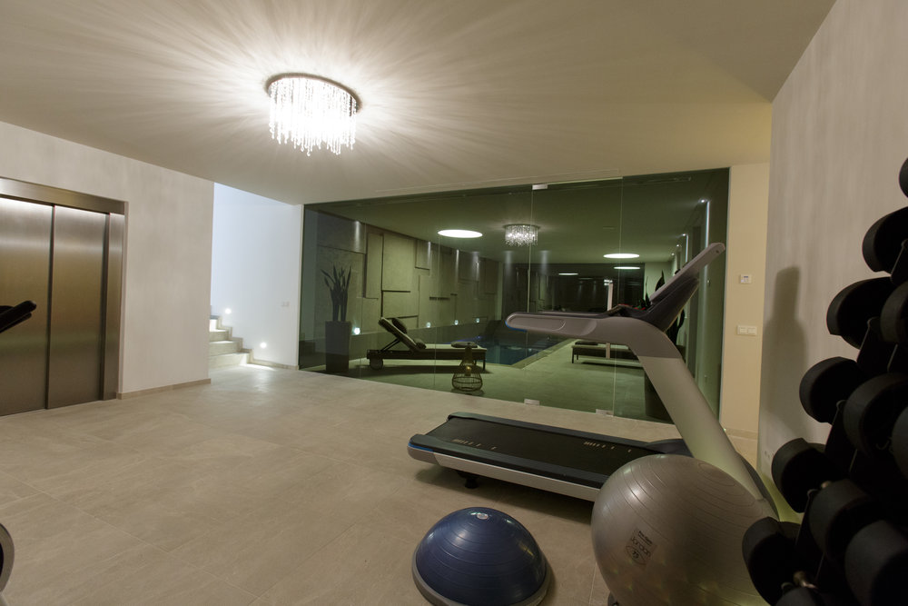 - Fitness Package. You can hire our personal trainer to visit the villa and give you a thorough workout of your choice in the villa gym as much or as little as you require during your stay. In addition our gym instructor is also a fully qualified physiotherapist that can assist with any aches and pains.