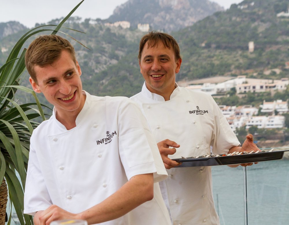 - Marc Fosh Package. For an extra special dining experience you can have a School of Marc Fosh trained chef visit the villa to provide excellent food and service with a special selection of menu options. This is a perfect evening enjoyed on the roof terrace as the sun sets.