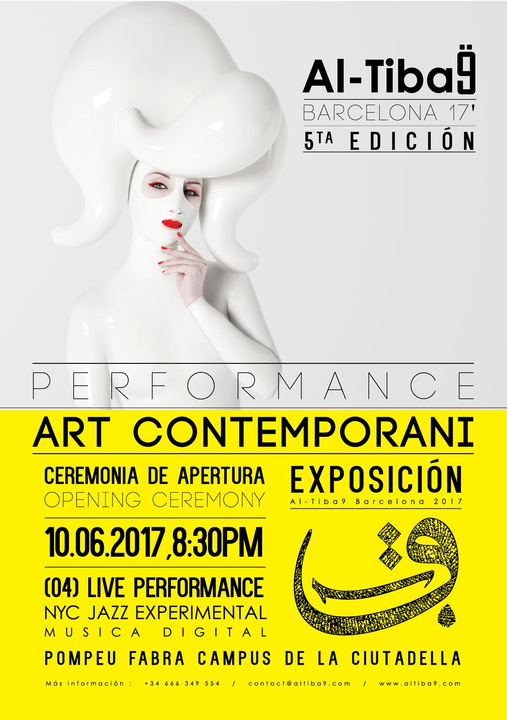 Al-Tiba9_5th_Edition_Barcelona_2017_Contemporary_Art_Performance_Sasha_Frolova