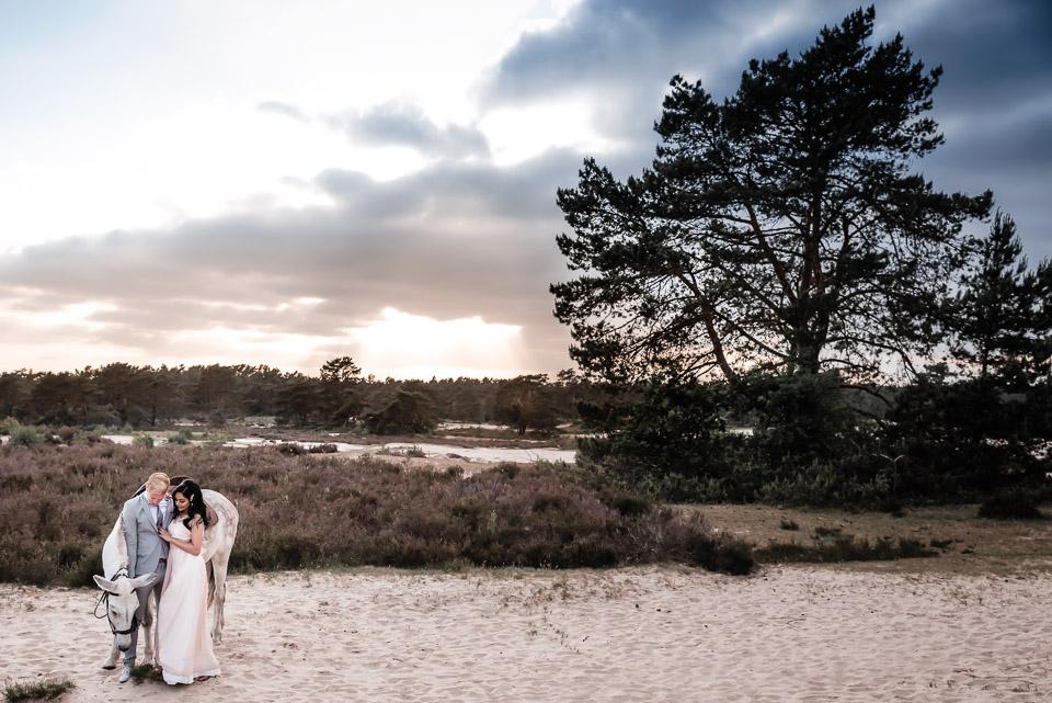 Bruiloft in Soesterduine