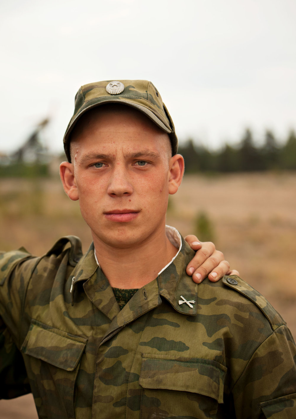Young Soldier 4  2011, archival pigment print 134 x 95 cm / 53 x 37.5 in. Edition of 5