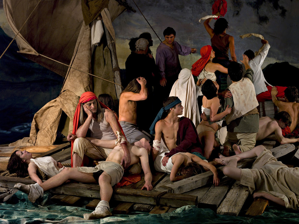 The Raft of the Medusa (100 Mile House) 1   2009, colour photograph 100.5 x 133.5 cm / 39.5 x 52.5 in. Edition of 5 51 x 68.5 cm / 20 x 27 in. Edition of 5