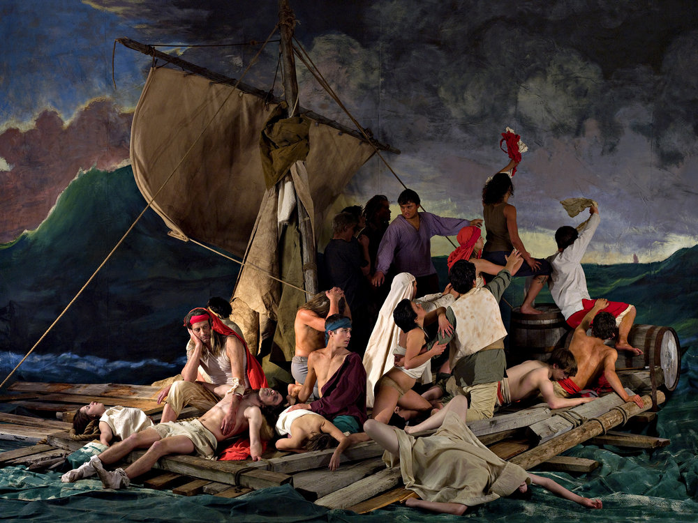 The Raft of the Medusa (100 Mile House) 8   2009, colour photograph 100.5 x 133.5 cm / 39.5 x 52.5 in. Edition of 5 51 x 68.5 cm / 20 x 27 in. Edition of 5